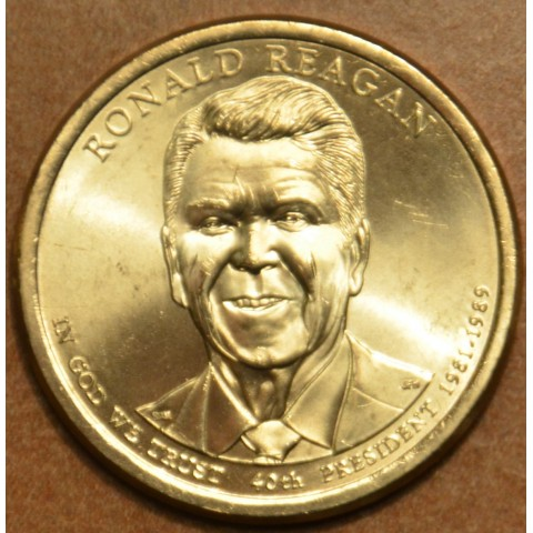 "1 dollar USA ""P"" 2016 Ronald Reagan (UNC)"