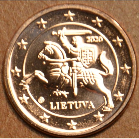 2 cent Lithuania 2020 (UNC)