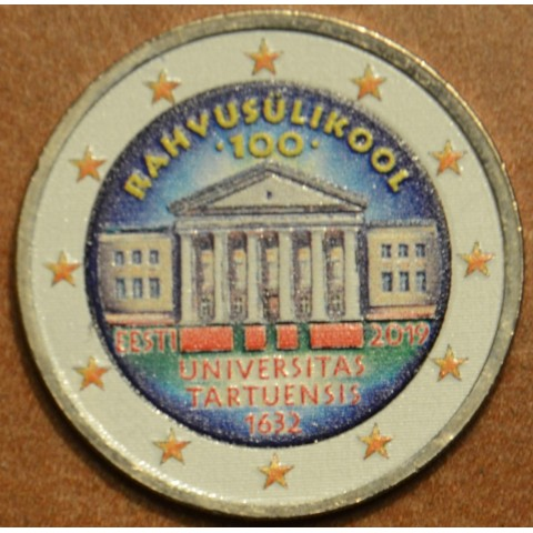 2 Euro Estonia 2019 - Univerzity in Tartu II. (colored UNC)