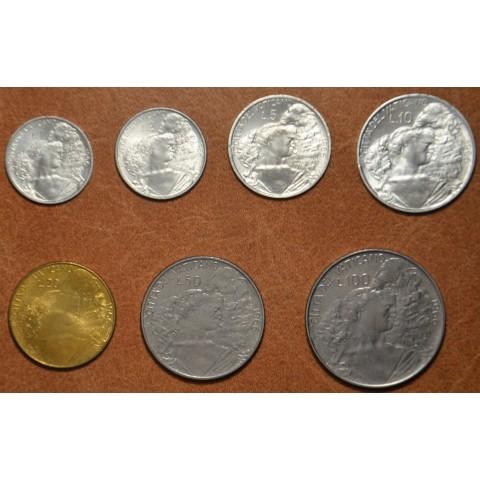 Vatican 7 coins 1966 (BU)