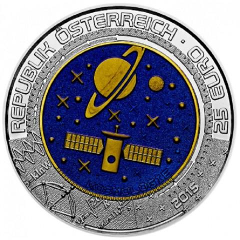 25 Euro Austria 2015 - silver niobium coin Kosmologie (Proof)