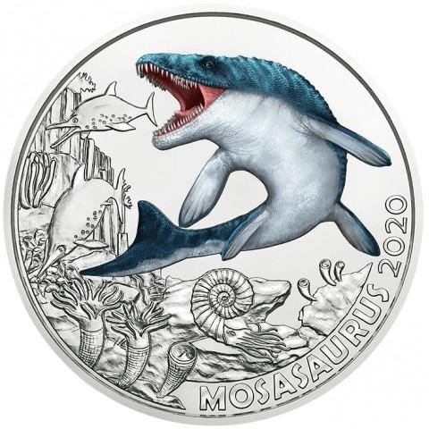 3 Euro Austria 2020 - Mosasaurus Hoffmanni (UNC)