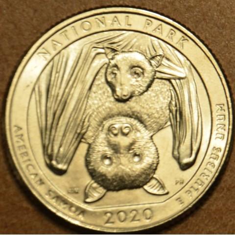 """25 cent USA """"P"""" 2020 National Park (UNC)"""