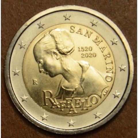 2 Euro San Marino 2020 - Raffaello (BU)