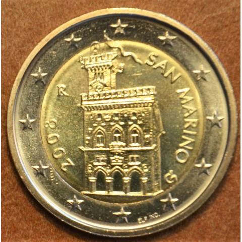 2 Euro San Marino 2008 - Government House (UNC)