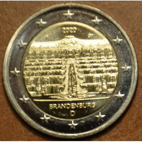 "2 Euro Germany ""F"" 2020 - Brandenburg (UNC)"