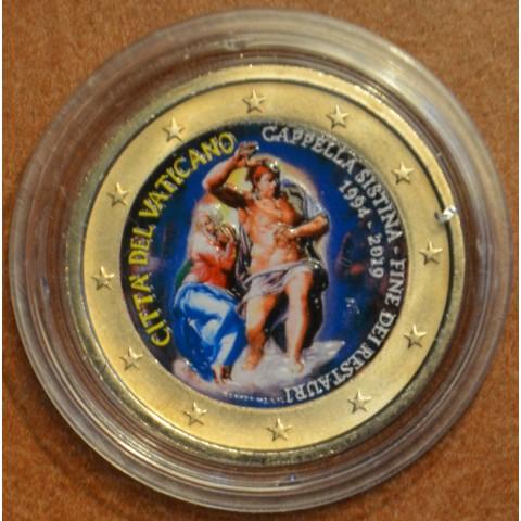 2 Euro Vatican 2019 - Sistine Chapel III. (colored UNC)