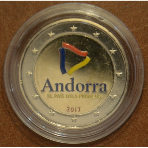 2 Euro Andorra 2017 - The Pyrenean country II. (colored UNC)