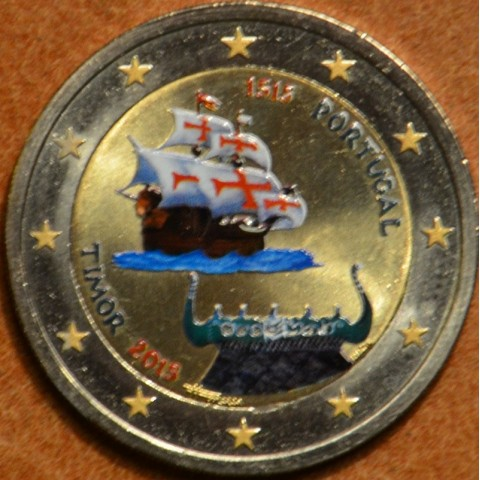 2 Euro Portugal 2015 - 500 years the Timor II. (colored UNC)