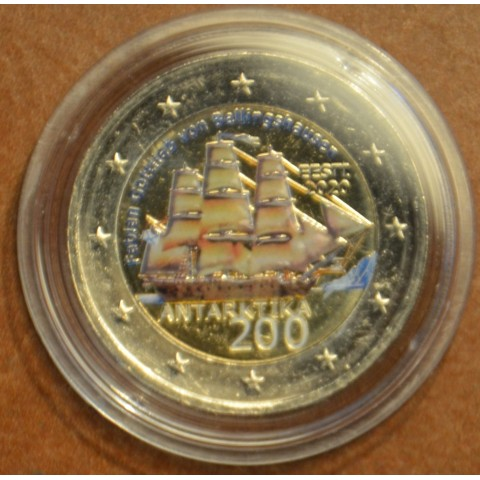 2 Euro Estonia 2020 - Discovery of the Antarctic (colored UNC)