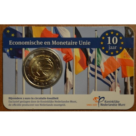 2 Euro Netherlands 2009 - 10th Anniversary of the Introduction of the Euro (BU card)