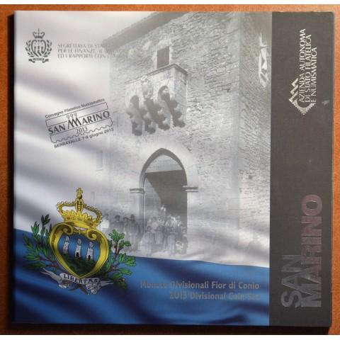 San Marino 2013 official 8 coins set (BU)