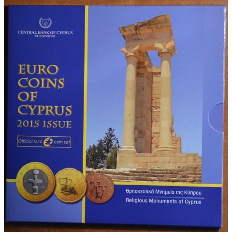 Set of 8 eurocoins Cyprus 2015 (BU)