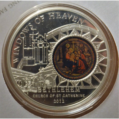 10 dollar Cook Islands 2012 Bethlehem (Proof)