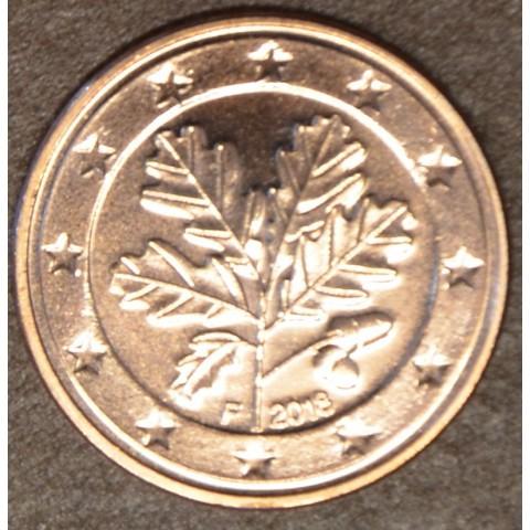 "2 cent Germany ""F"" 2018 (UNC)"