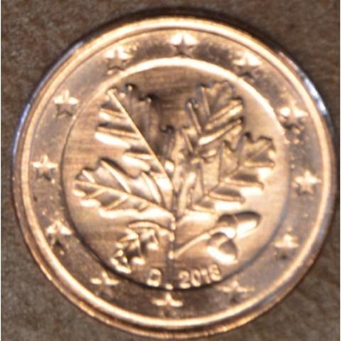 """2 cent Germany """"D"""" 2018 (UNC)"""