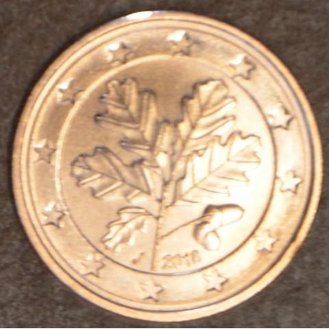 "2 cent Germany ""J"" 2018 (UNC)"