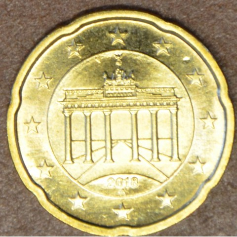 """20 cent Germany """"A"""" 2018 (UNC)"""