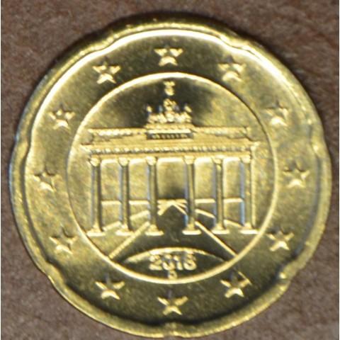 """20 cent Germany """"D"""" 2018 (UNC)"""