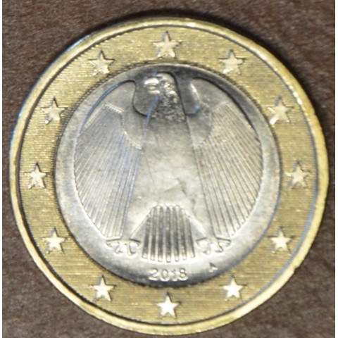 "1 Euro Germany ""A"" 2018 (UNC)"