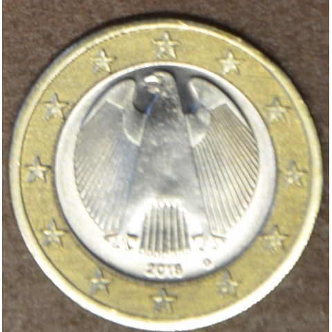 "1 Euro Germany ""G"" 2018 (UNC)"