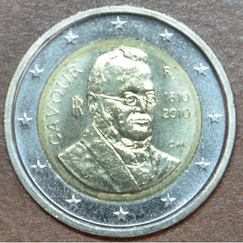 2 Euro Italy 2010 - 200th anniversary of birth of Camillo Benso (UNC)