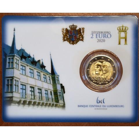 "2 Euro Luxembourg 2019 with mintmark ""leon"" -  Prince Henry d'Orange-Nassau (UNC)"
