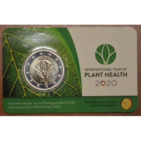 2 Euro Belgium 2020 -  International Year of Plant Health (BU - dutch side)