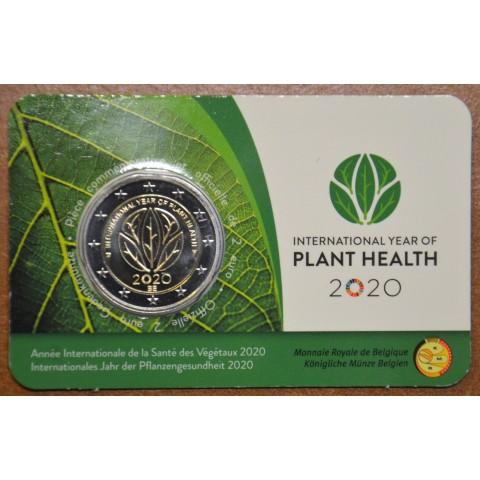 2 Euro Belgium 2020 -  International Year of Plant Health (BU - french side)