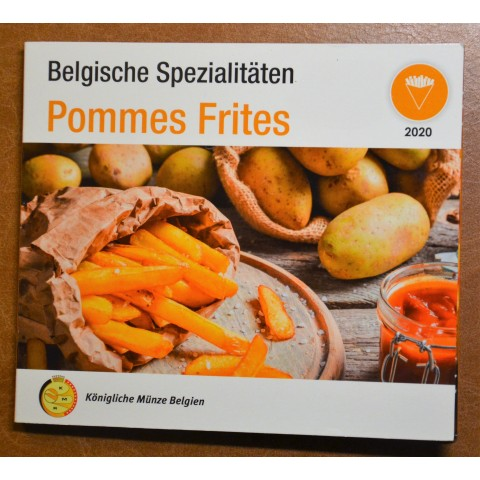 Belgium 2020 Pommes frites official set (BU)