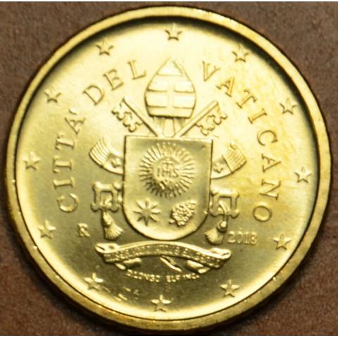 50 cent Vatican 2018 (UNC)