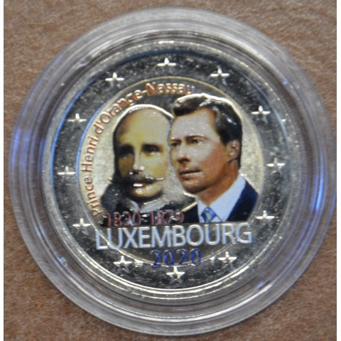 2 Euro Luxembourg 2019 - Prince Henry d'Orange-Nassau (colored UNC)