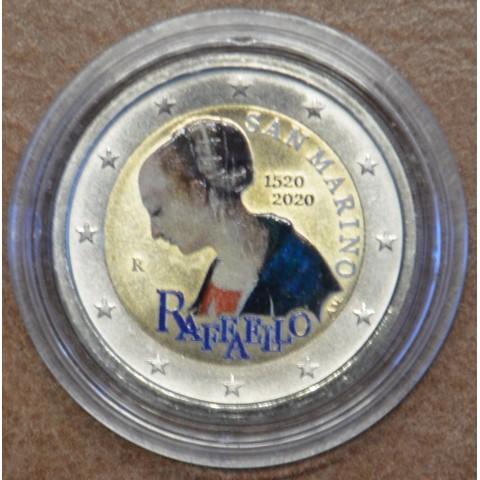 2 Euro San Marino 2020 - Raffaello (colored BU)