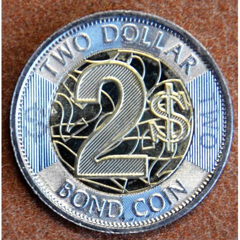 Zimbabwe 2 dollar 2018 (UNC)