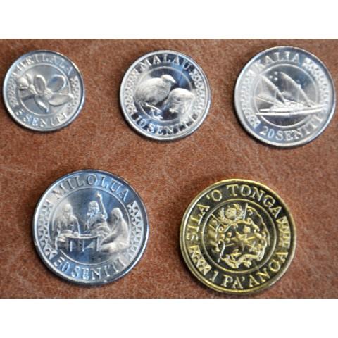 Tonga 5 coins 2015 (UNC)