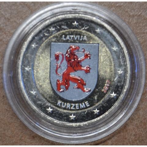 2 Euro Latvia 2017 - Kurzeme IV. (colored UNC)