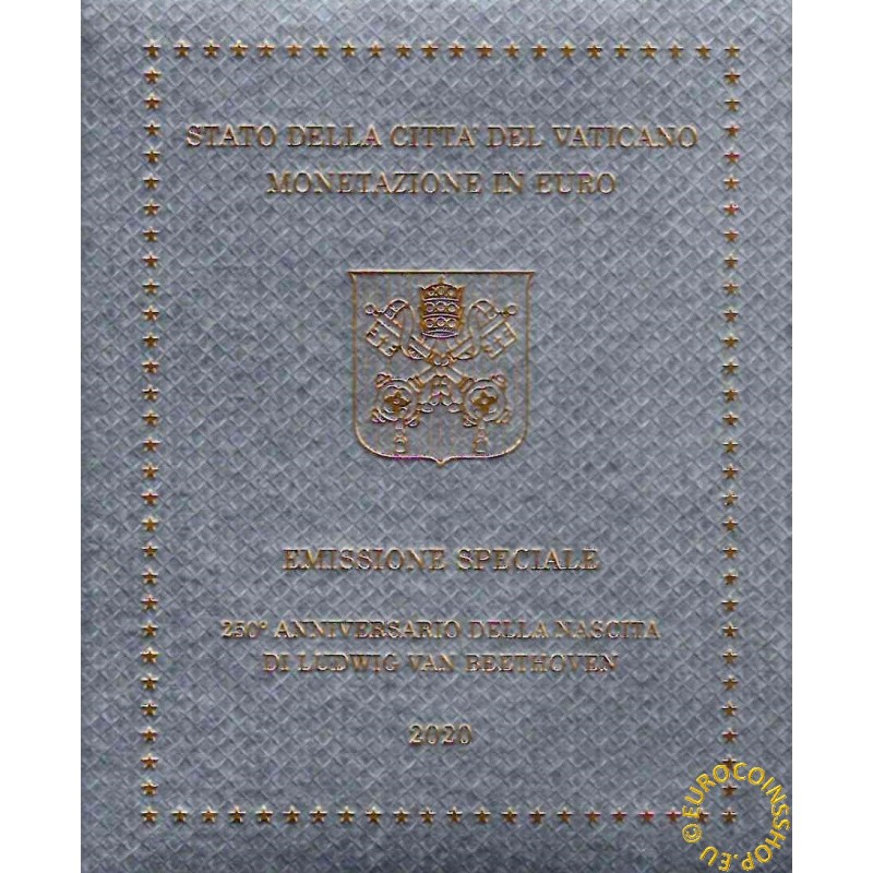 Set of 9 eurocoins Vatican 2020  (BU)