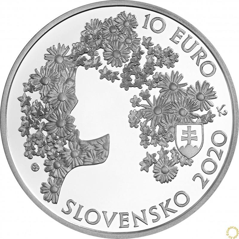 10 Euro Slovakia 2020 - Andrej Sládkovič (Proof)