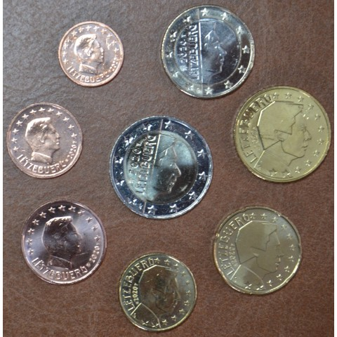 Set of 8 coins Luxembourg 2020 (UNC)