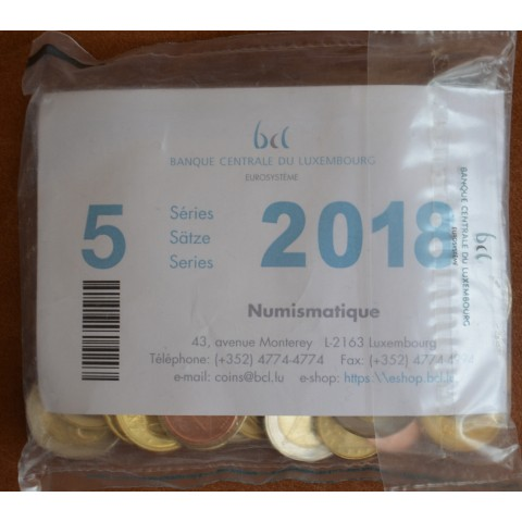 Luxembourg 2018 - bag (UNC)