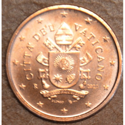 1 cent Vatican 2020 (BU)