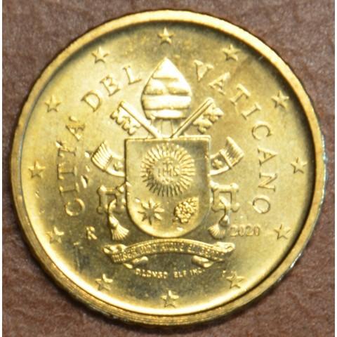 50 cent Vatican 2020 (UNC)