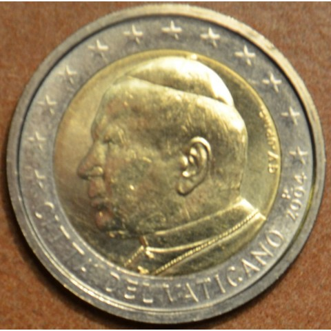 2 Euro Vatican His Holiness Pope John Paul II 2004 (UNC)