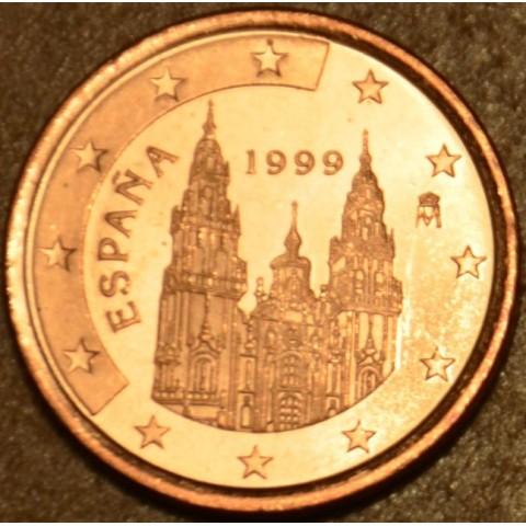 1 cent Spain 1999 (UNC)