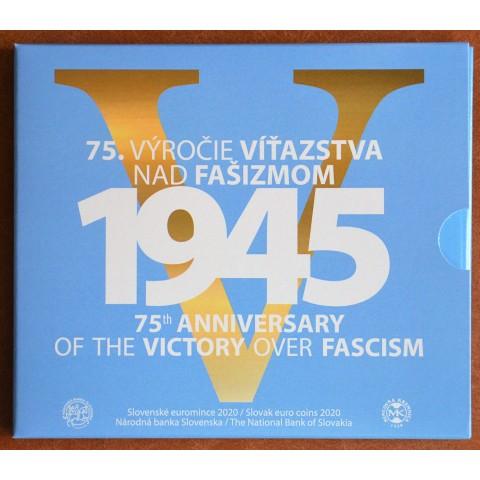 Set of 8 Slovak coins 2020 - Victory over Fascism (BU)