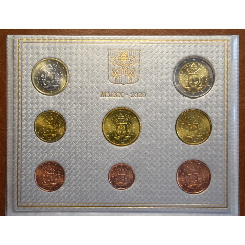 Set of 8 eurocoins Vatican 2020  (BU)