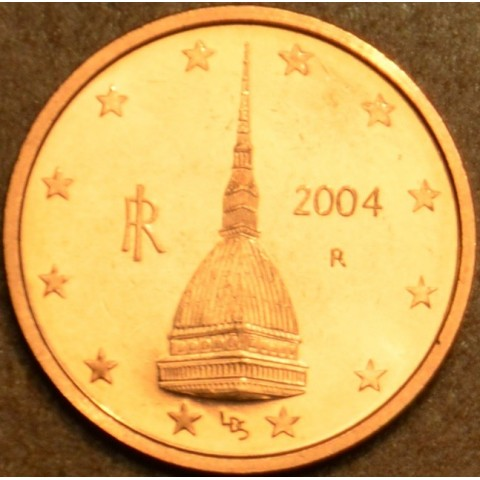 2 cent Italy 2004 (UNC)