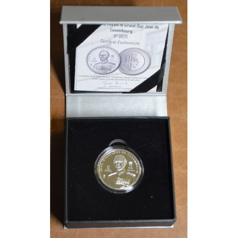 5 Euro Luxembourg 2019 - Grand-Duc Jean de Luxembourg (Proof)