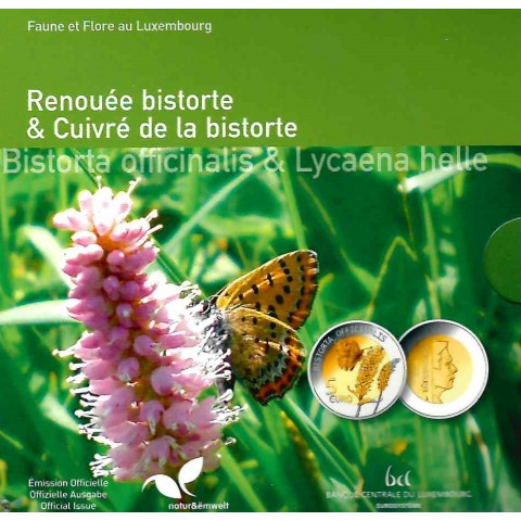 5 Euro Luxembourg 2020 - Bistorta officinalis (Proof)