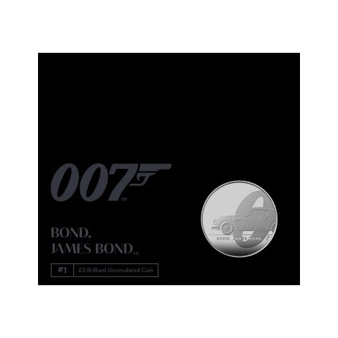 United Kingdom 5 pound 2020 James Bond (BU)
